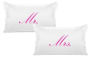 his and hers pillow cases