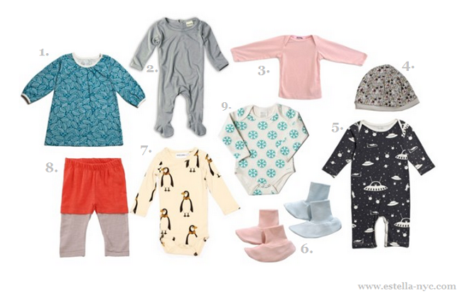 How to dress organic baby clothes for infants in winter?