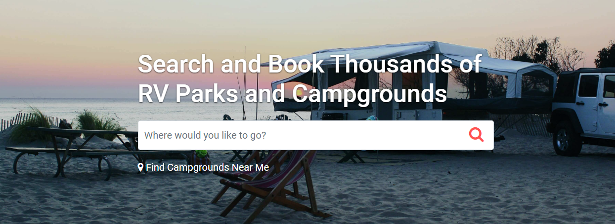 Leading RV Park & Campground Website
